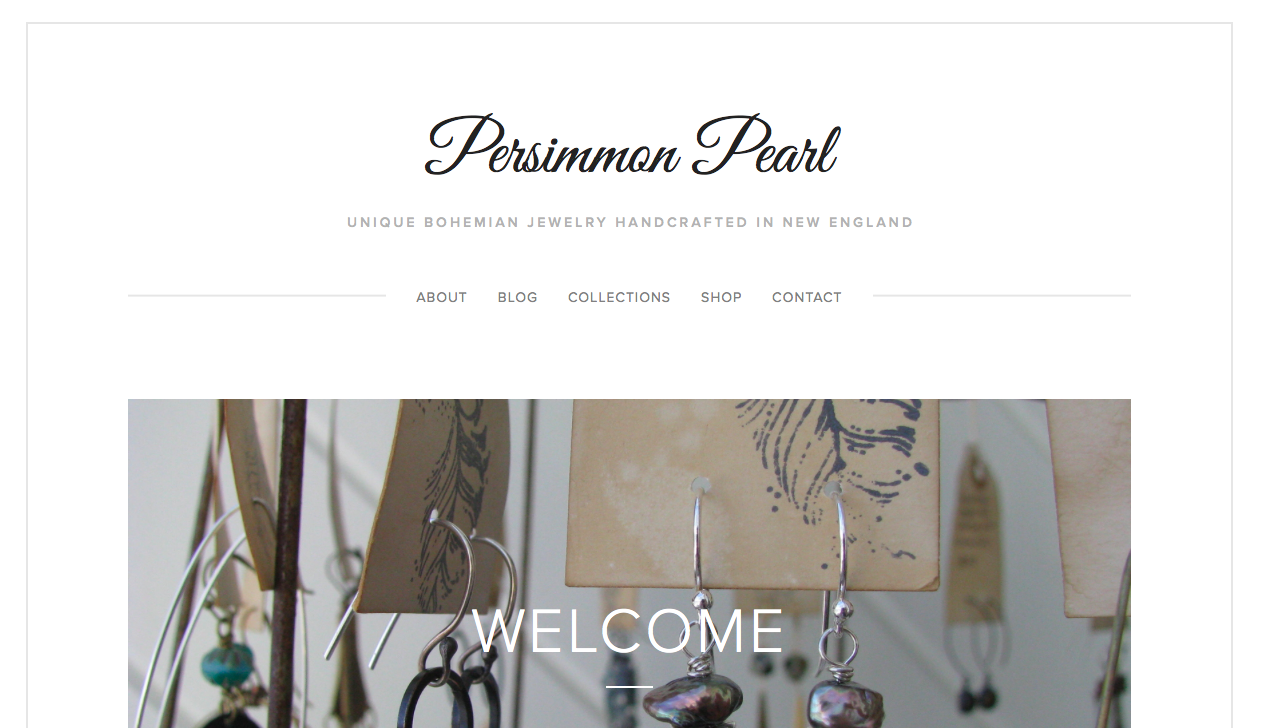 Screenshot of persimmonpearl.com